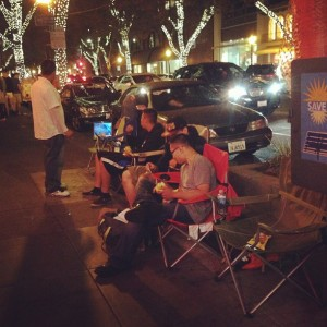 iphone 5s 5c lines apple stores palo alto california