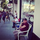iphone 5s 5c lines apple stores pasadena california