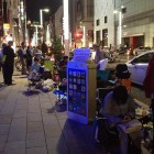 iphone 5s 5c lines apple stores tokyo japan ginza