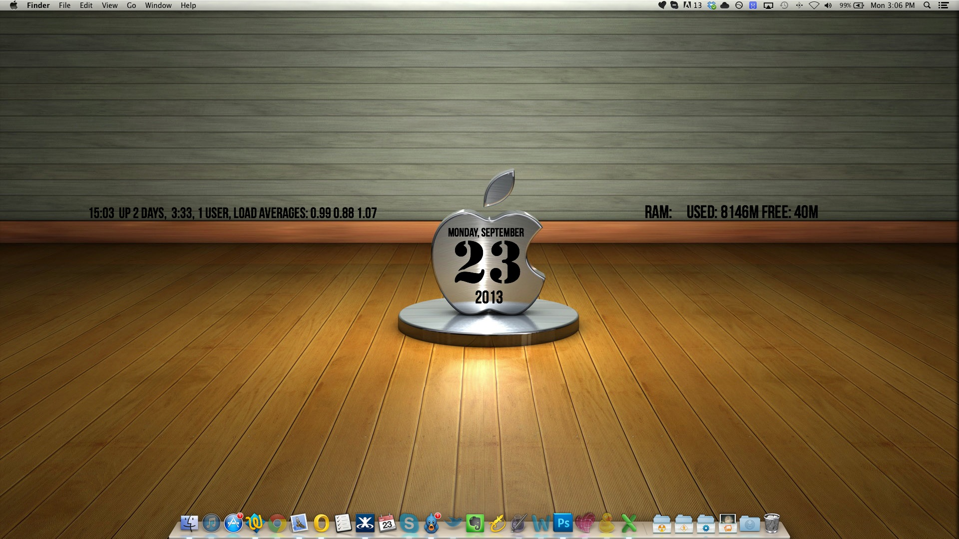 how to make a wallpaper on mac