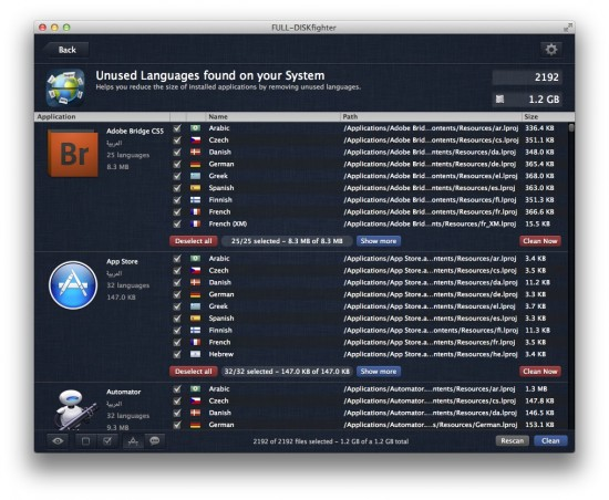 full-diskfighter language scanner mac