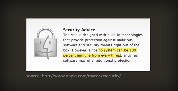 Apple Mac Antivirus Scan