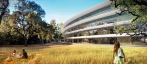 Apple Campus 2 - run a mile
