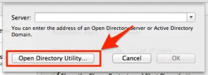 Open directory utility