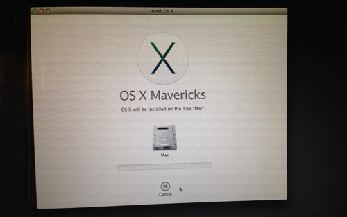 mavericks-install-running