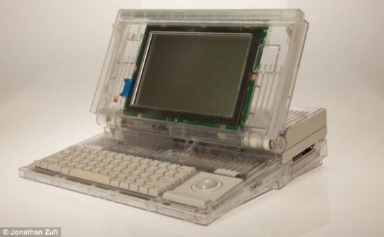 Transparent Macintosh