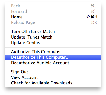 Authorization Issues in iTunes