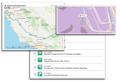 using apple maps pdf