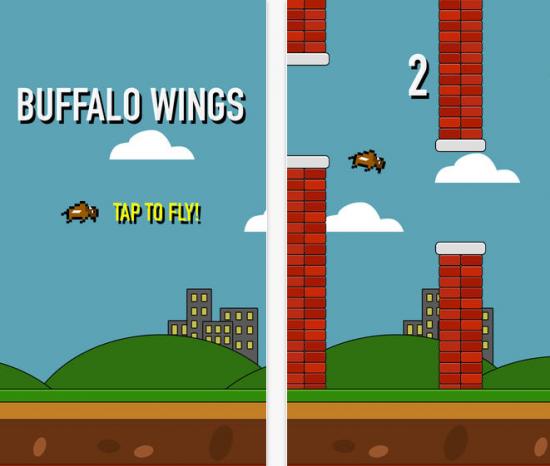 Flappy Bird clone