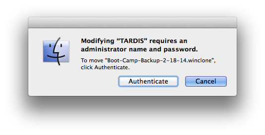 boot-camp-backup-authenticate