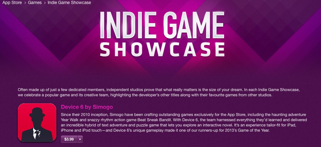 Indie Games Showcase