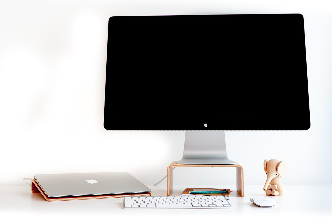 how to remove imac stand 2014