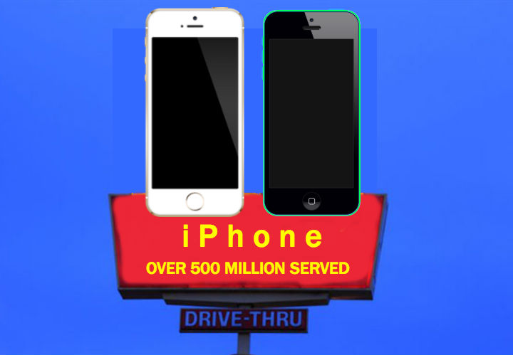 500 millionth iPhone