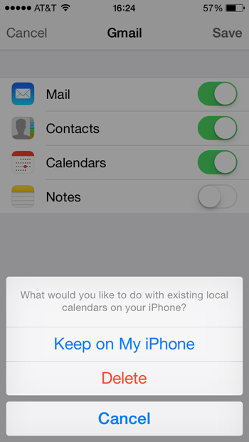 setup gmail on iphone how to set up a gmail account in ios 7 apple gazette 4414