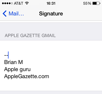 iphone-gmail-setup-multi-signatures