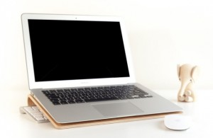 Apple bamboo accessories