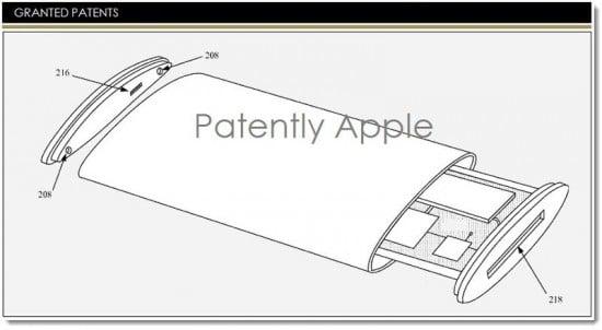 iphone with wraparound display