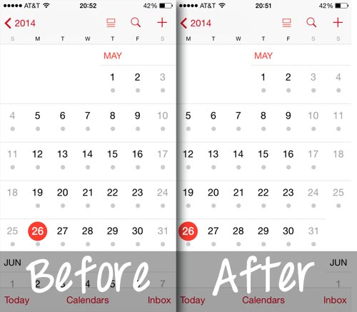 start ios calendar on monday results