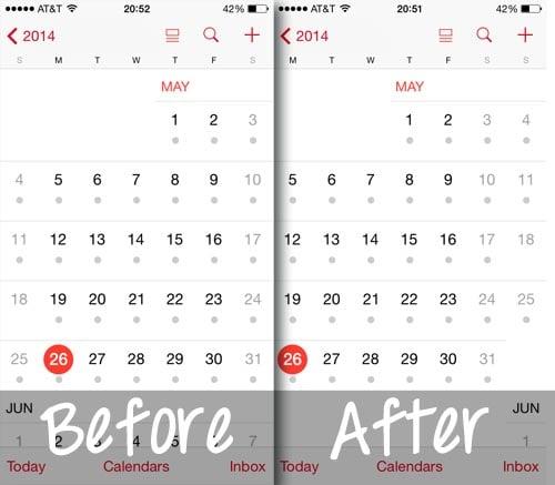 start ios calendar on monday results