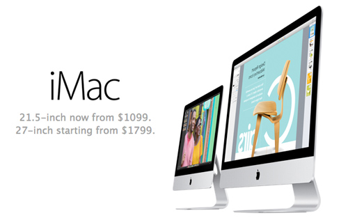 Cheaper iMac Apple