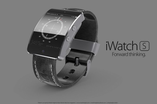 iwatch concept leather