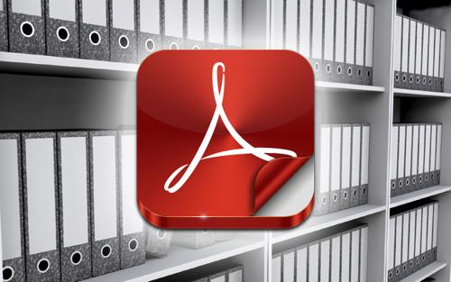 Files on bookshelves