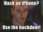 ios backdoor
