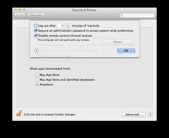 log out mac security