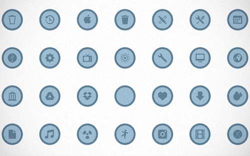 change folder icons os x