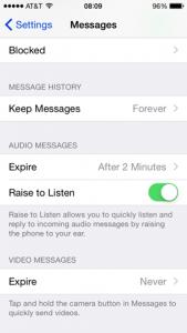 ios 8 delete messages