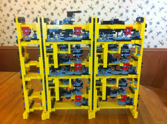 LEGO Babbage Difference Engine