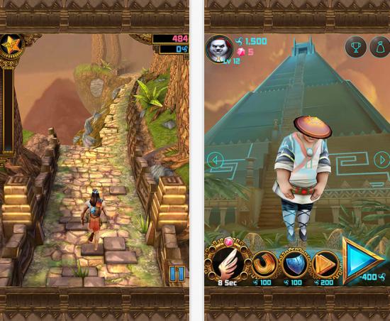 Spirit Run iOS game