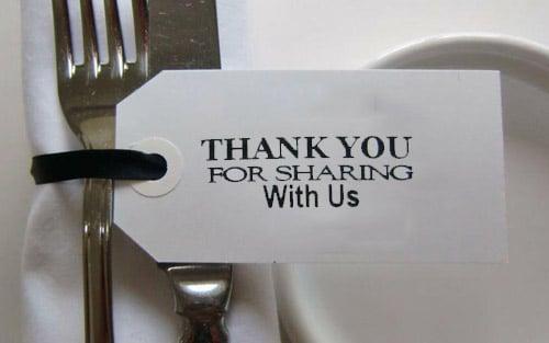 sharing panel