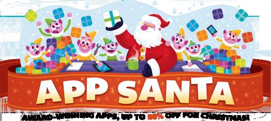 app santa discount