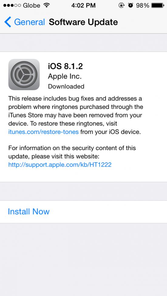 iOS 812