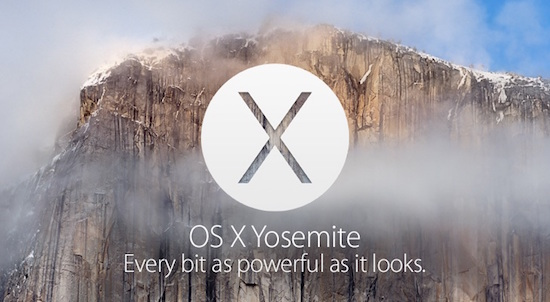 features of OS X Yosemite