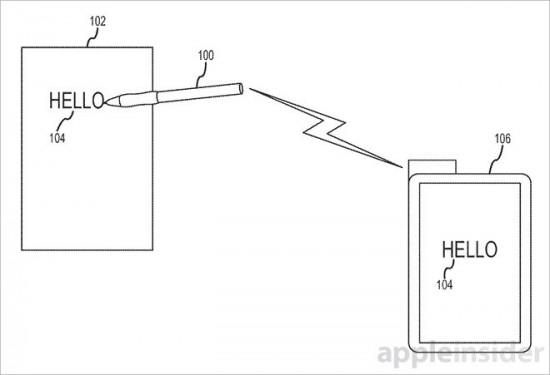 apple smart pen patent