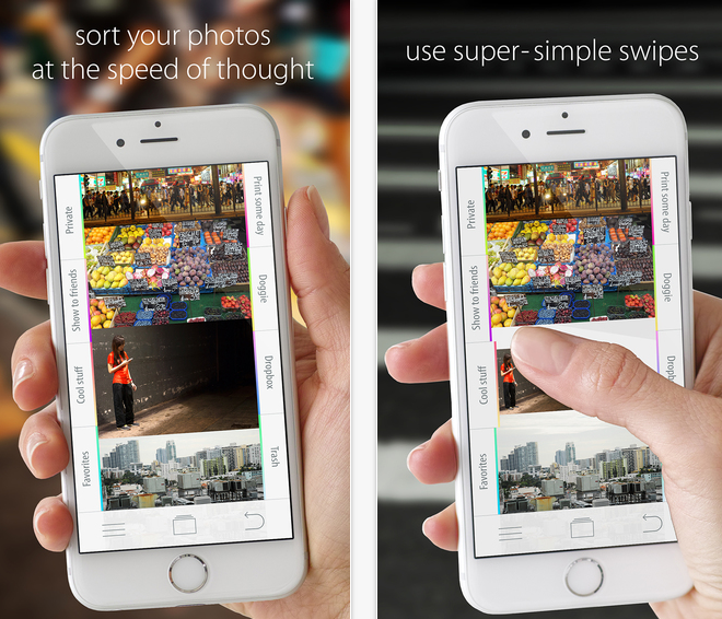 Organize your iphone photos better with sortpad for Cool way to arrange iphone apps