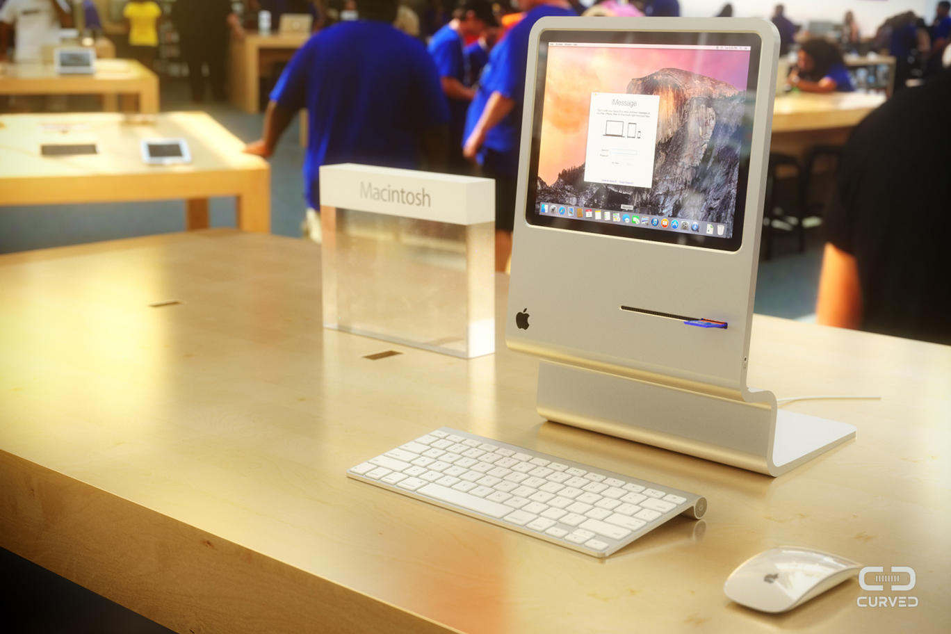 Original Macintosh Reimagined