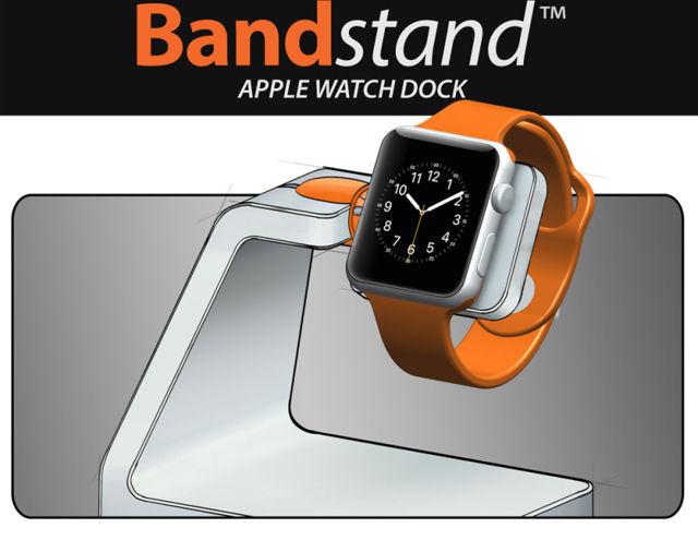 Bandstand Apple Watch Dock