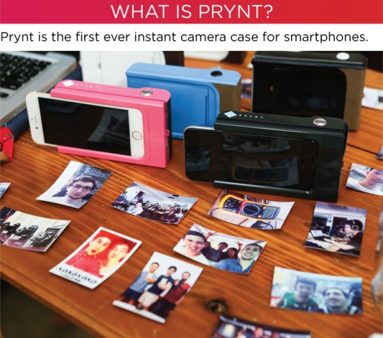 prynt case iphone polaroid