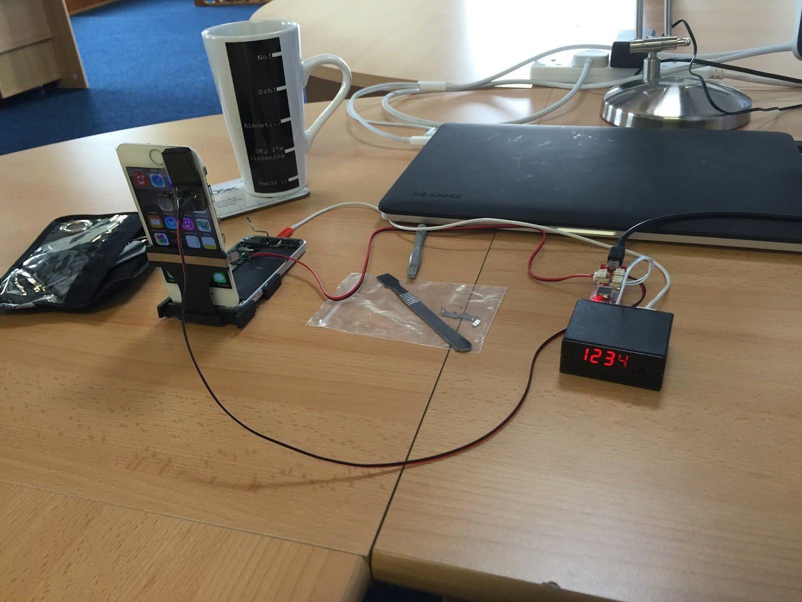 IP Box iPhone passcode hack