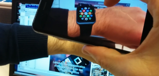 virtual apple watch