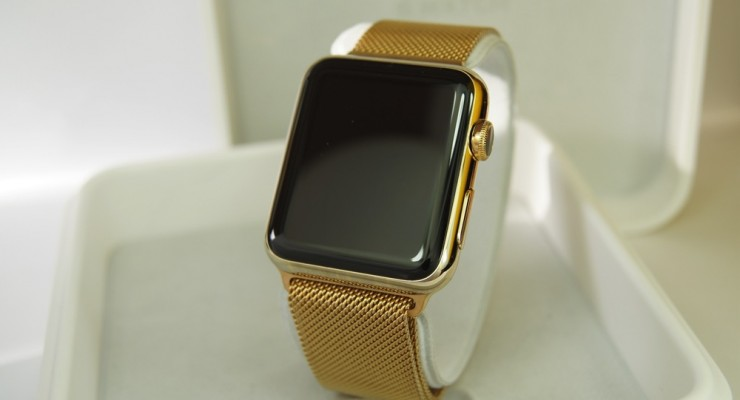 get a gold plated apple watch thanks to watch plate