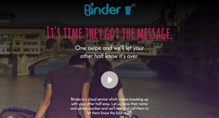binder break up app