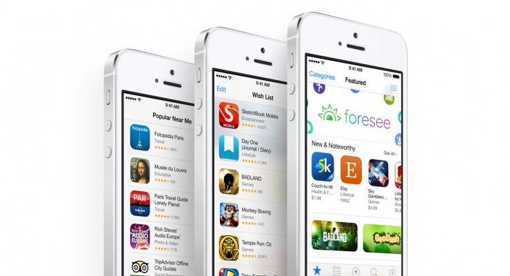 iPhone-5s-Silver-App-Store