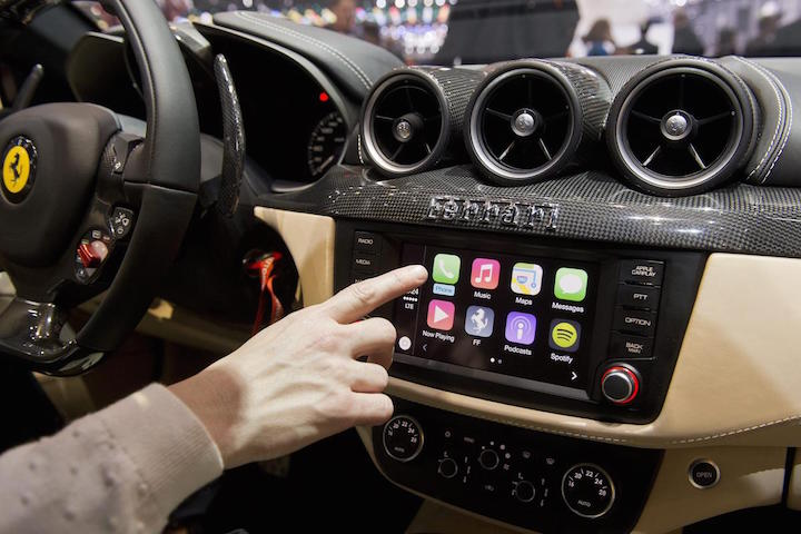 Apple working on a car