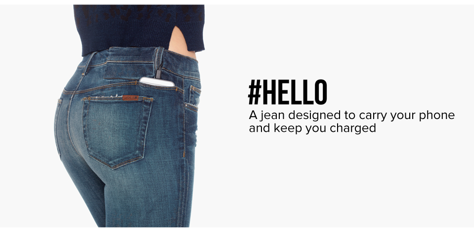 Mobile iPhone Charging Jeans