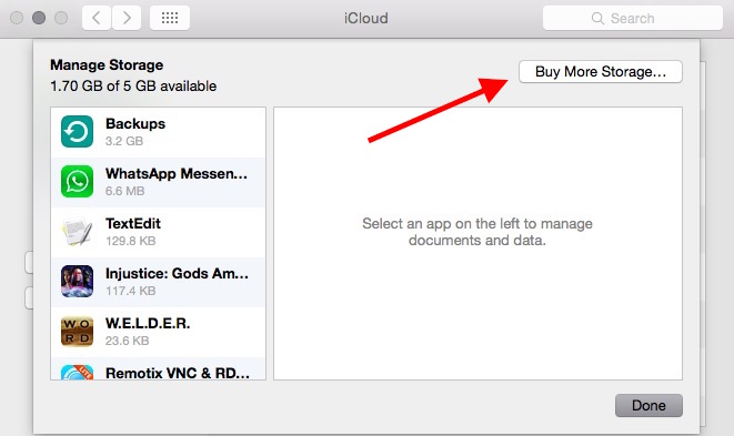 how to get more icloud storage