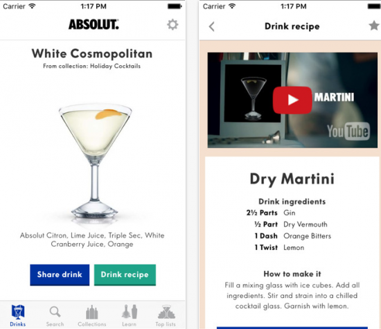 best ios cocktail apps